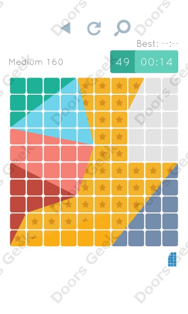 Cheats, Walkthrough for Blocks and Shapes Medium Level 160