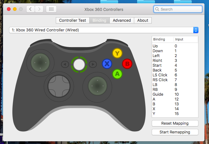 Tested: BETOP controller, OpenEmu, 360Controller driver on