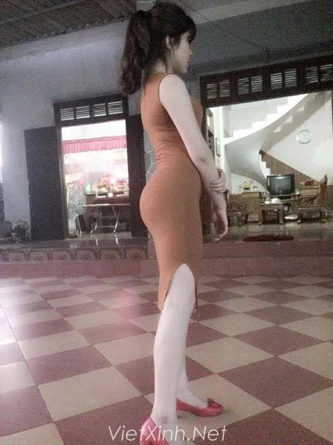 Hàng tuyển chọn mông đẹp - Ảnh girl xinh Facebook khoe mông cực phê