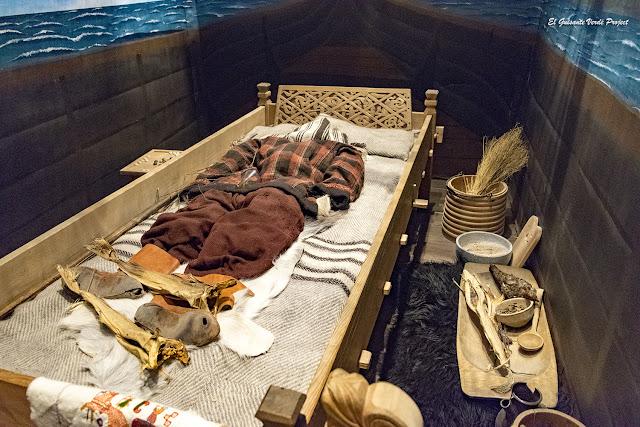 Lofotr Vikingmuseum, ajuar funerario, por El Guisante Verde Project