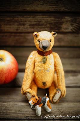 teddy bear, Timoshka, Totoshka