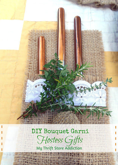 DIY bouquet garni