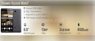 27. Huawei Ascend Mate7
