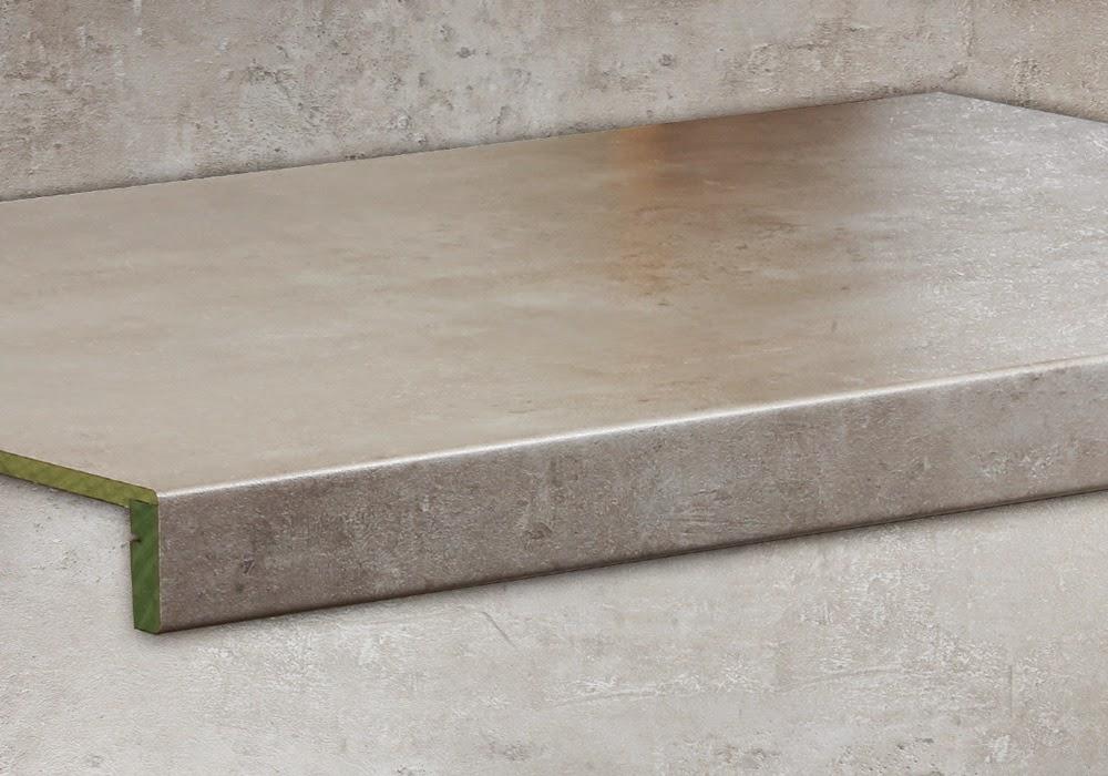 Treppenrenovierung mit Betongrau Stone