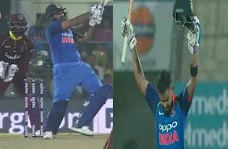 विराट कोहली और रोहित शर्मा ने वेस्टइंडीज के खिलाफ पहले वनडे में शानदार शतक लगाए