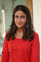 Actress Lavanya Tripathi Latest Pos in Red Dress at Radha Movie Success Meet .COM 0154.JPG