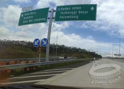 Tol Lampung (Bakauheni - Terbanggi Besar)
