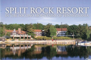Split Rock Resort in the Pocono Mountains of Pennsylvania