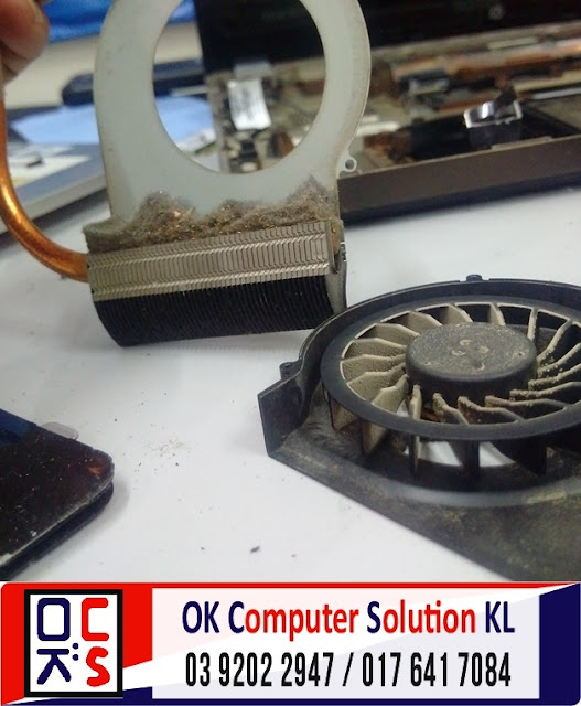 [SOLVED] SERVIS LAPTOP HP COMPAQ CQ42 | REPAIR LAPTOP CHERAS 8