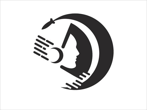 Contoh Desain Logo Negative Space - 20