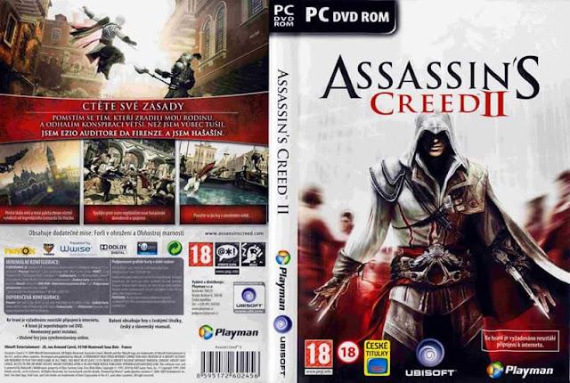 تنزيل لعبة الاكشن والمغامرة بجزئها الثاني Assassin's Creed II كاملة وفقط بحجم 2.99 جيجا على رابط واحد على ميديافاير