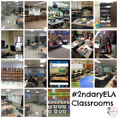 Take a peek into the classrooms of 25+ secondary English Language Arts teachers for decoration ideas, desk arrangements, how to showcase student work, and technology must haves.