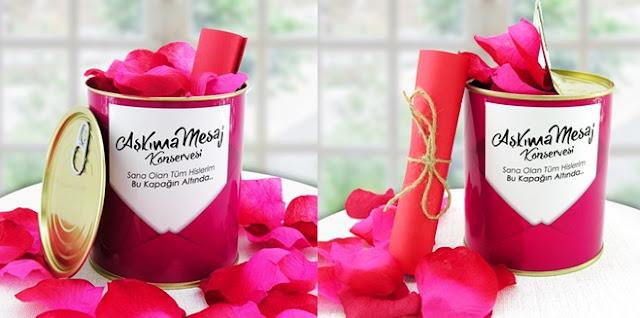 Sevgiliye sürpriz hediye