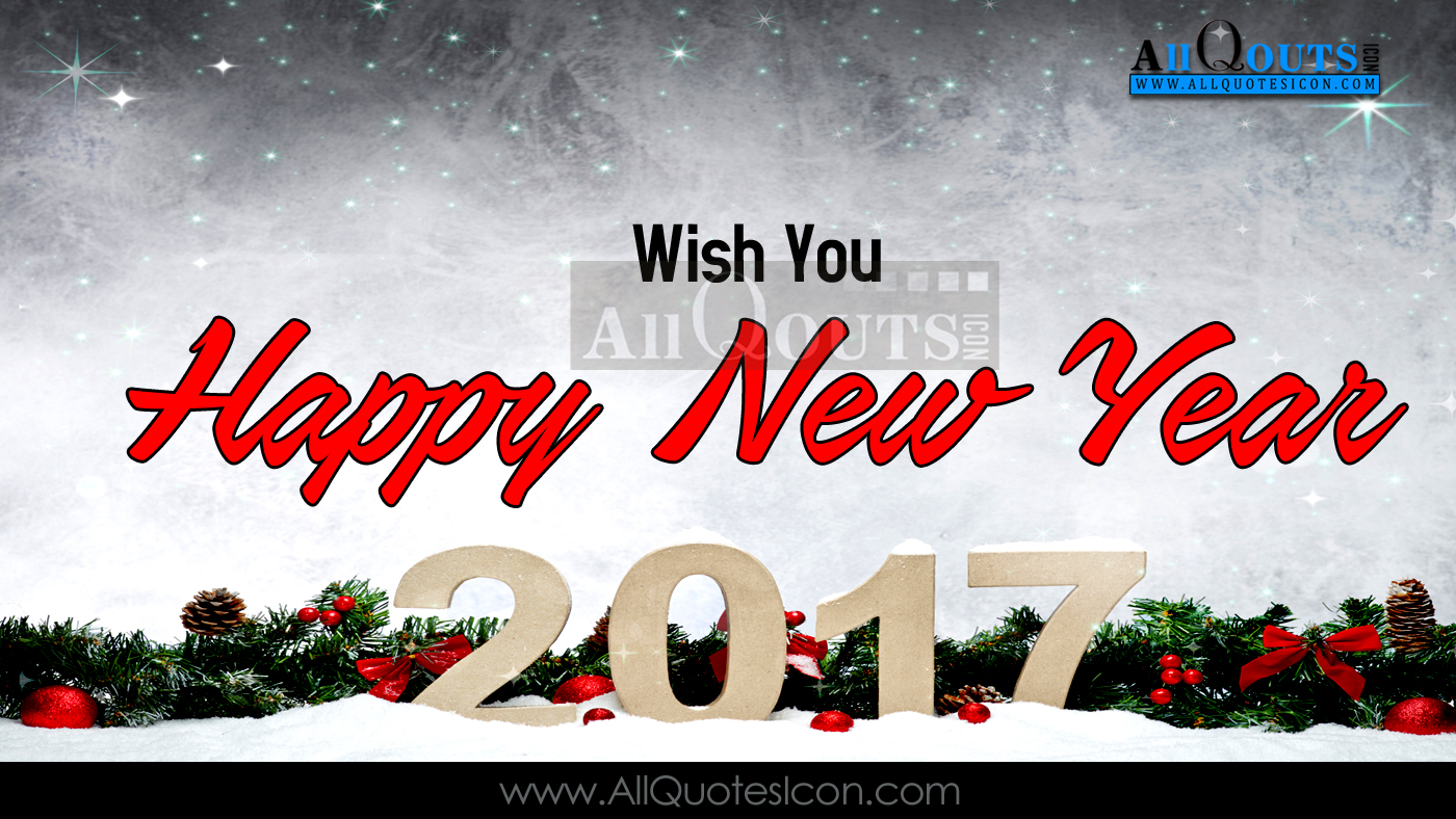 Happy New Year Greetings Sayings and English Quotes Images HD ...