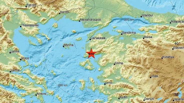 Σεισμός 5,1 Ρίχτερ στη Δυτική Τουρκία