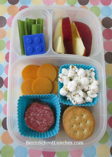 DIY homemade lunchables with nitrate free salami