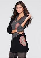Pulover tricotat cu detalii deosebite (bonprix)
