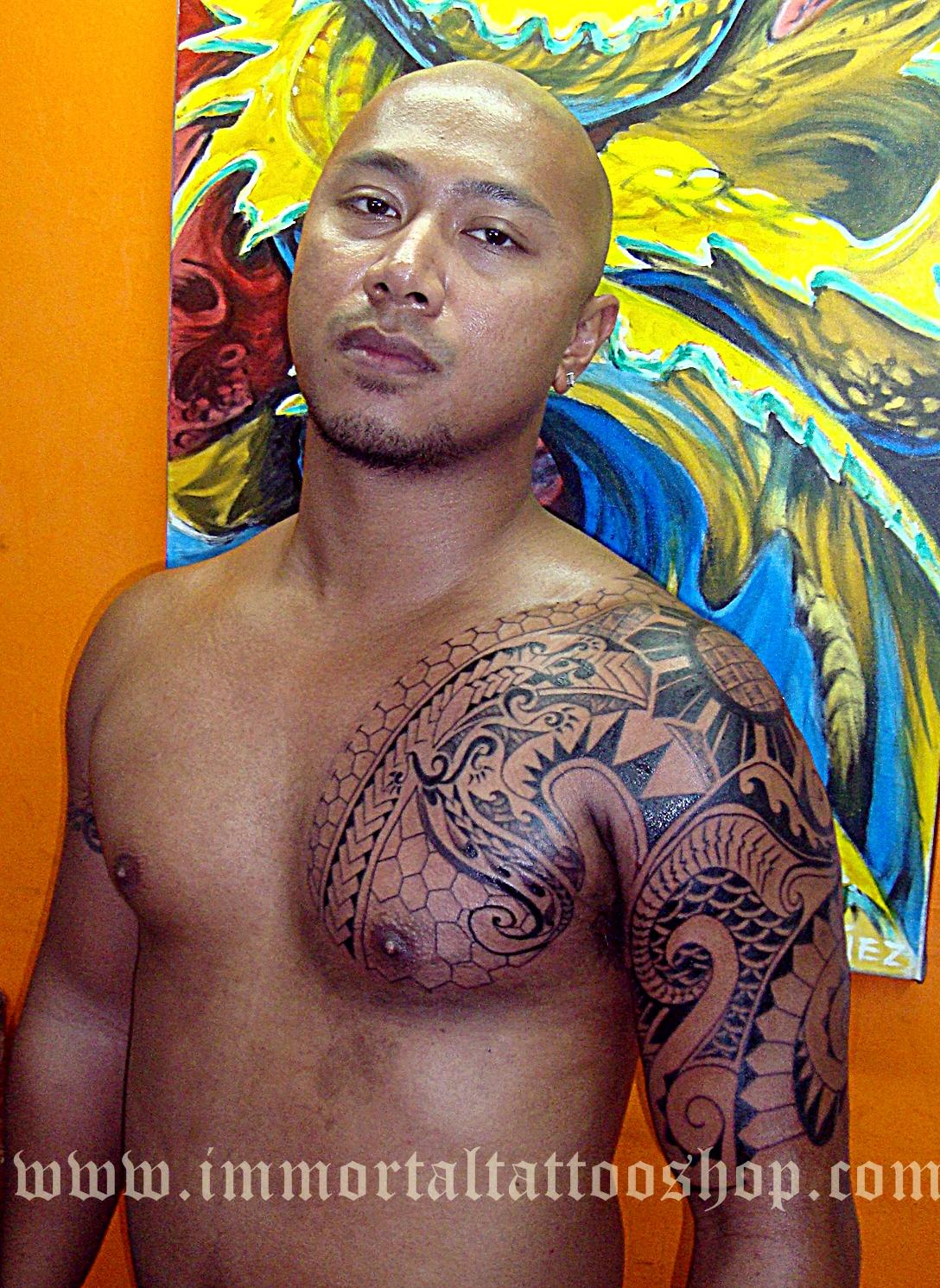 Visayan Tattoo Design