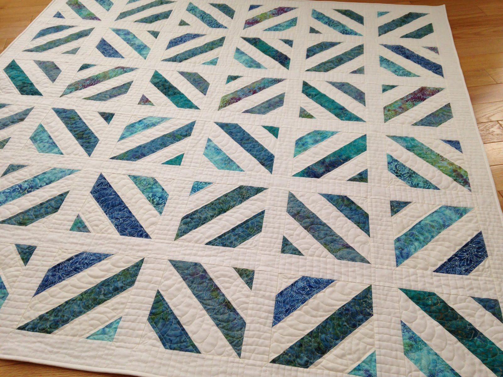 Savor Every Stitch Lakeside Quilt
