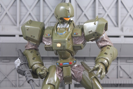This Resin Is One Of My Rare Finds And First Attempt On A Soft Vinyl Garage Kit I Do Have The Posable Figure Helldiver In Revoltech However