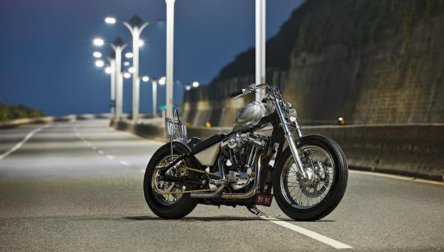 Harley Davidson Sportster By 2 Loud Custom Shop Hell Kustom