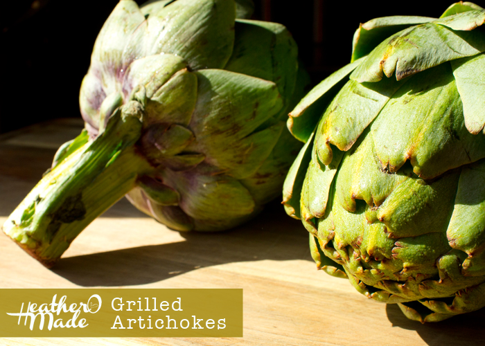 Gilled Artichokes recipe