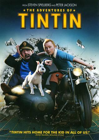 The Adventures of Tintin 2011 Dual Audio Hindi 300MB BluRay 480p