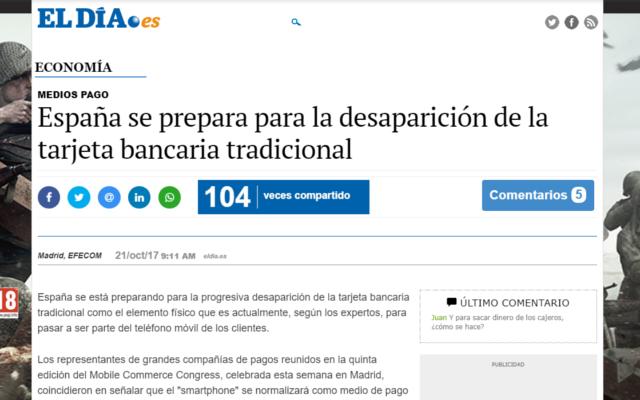 España se prepara para la desaparición de las tarjetas bancarias tradicionales