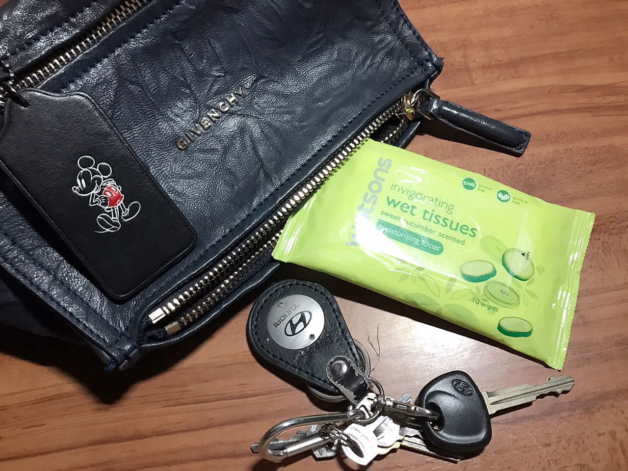 Image result for tissue in my handbag
