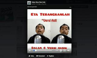 cara menyimpan video di facebook tanpa aplikasi