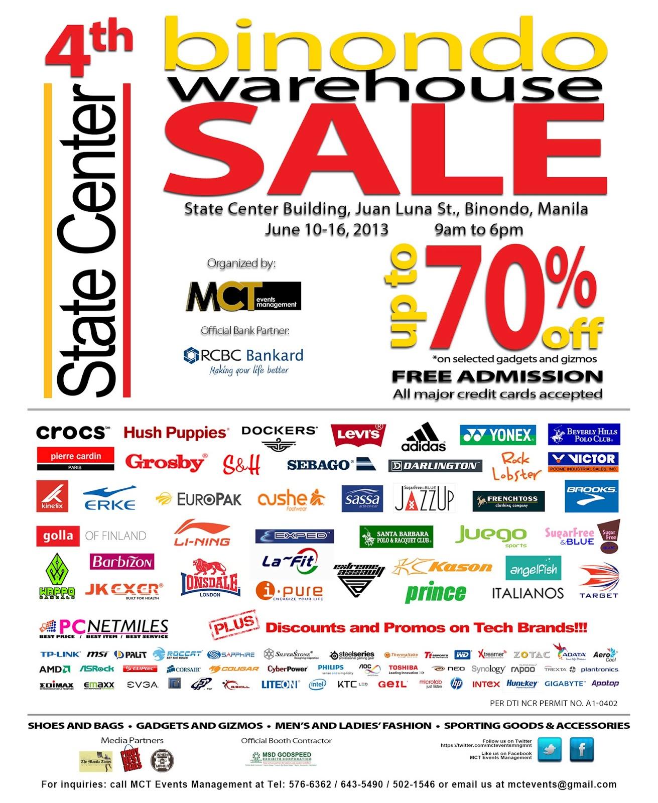 233d429c4a00 Gelleesh  SALE ALERT  4th Binondo Warehouse Sale