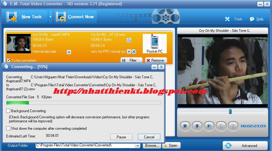 em total video converter free download full version