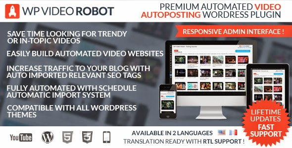 WP Video Robot 1.5.3