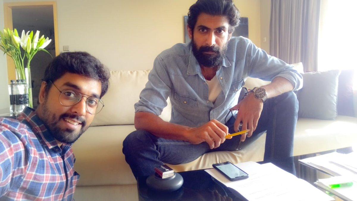 Rana Daggubati's voice-over for Sumanth's Subrahmanyapuram Movie!