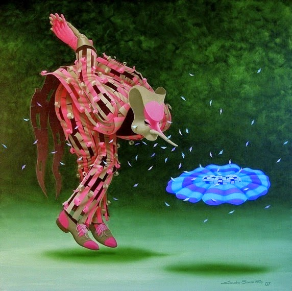 Perfume - Claudio Souza Pinto e suas pinturas cheias de cor e criatividade