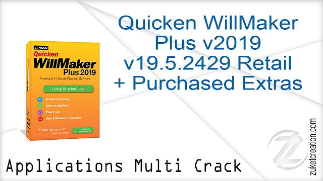 Quicken WillMaker Plus v2019 v19.5.2429 Retail + Purchased Extras