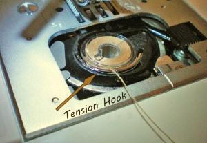 sewing machine bobbin tension
