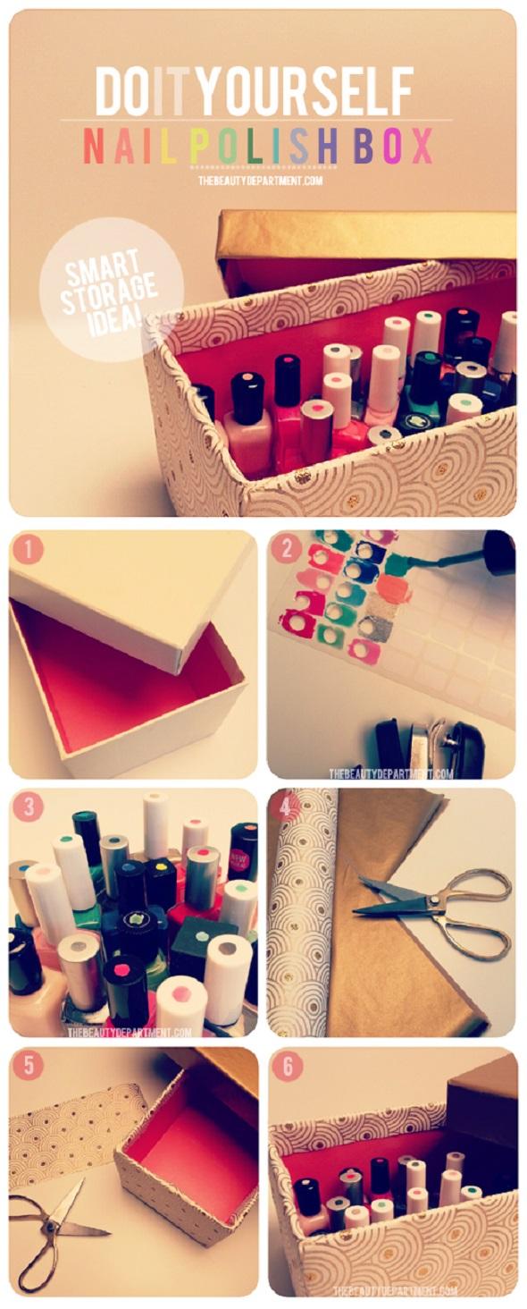 organizar, esmalte de uñas, nail polish, pintauñas, store, ideas útiles,
