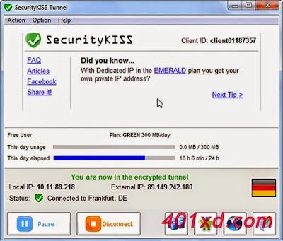 Tutorial Internet Gratis Unlimited VPN Menggunakan Software VPN Security KISS