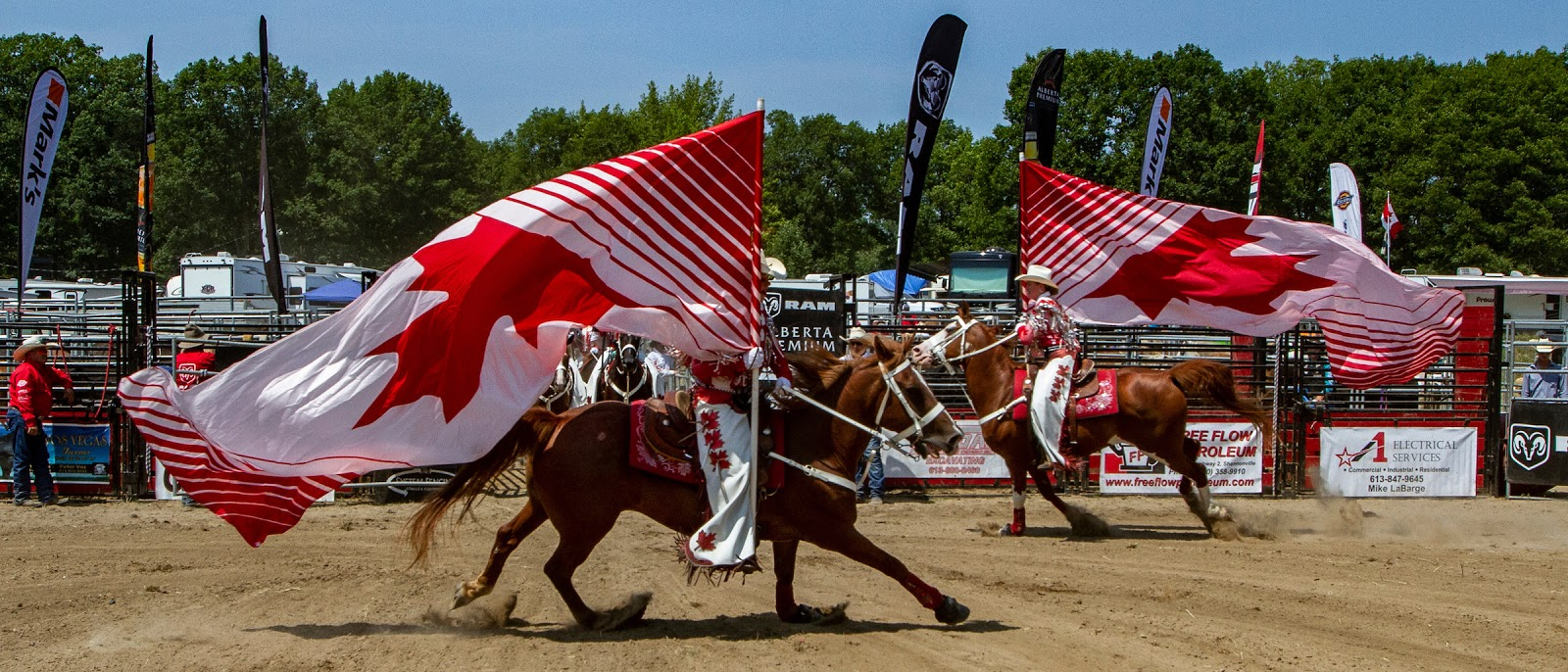 Canadian Cowgirls Saddles Up With The Ram Rodeo Tour