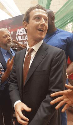 Mark zuckerberg on suit