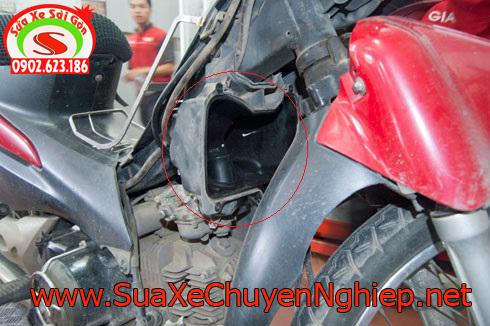 Nguyên nhân và cách khắc phục bệnh về xăng - gió xe máy