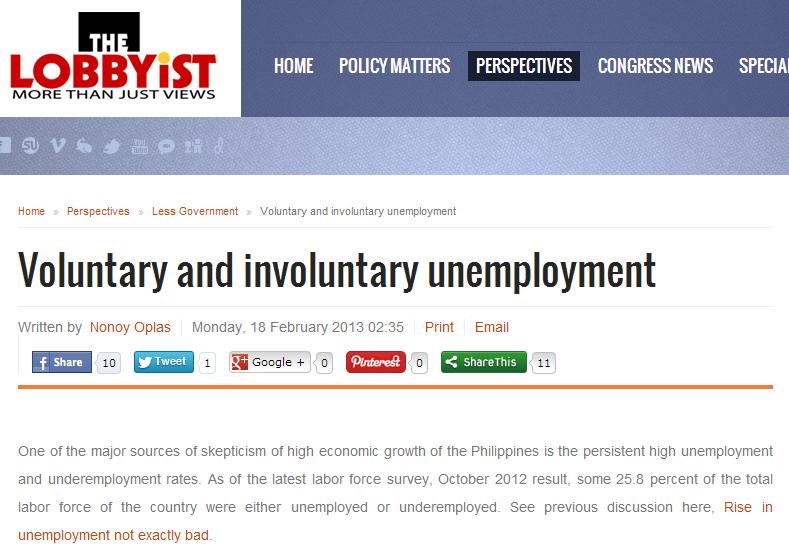 Impact of Unemployment in Economics
