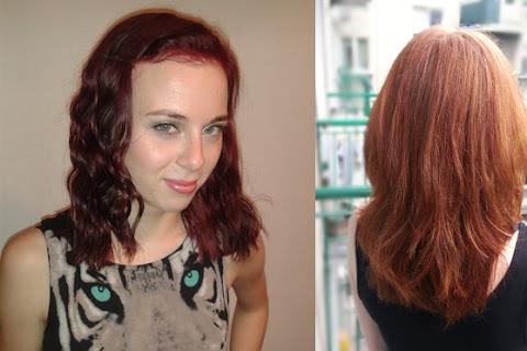 Powrót do naturalnego koloru włosów Kat Zazzles - z czerni do rudości - czytaj dalej »