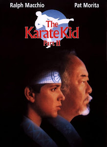Poster Of The Karate Kid Part II (1986) In Hindi English Dual Audio 300MB Compressed Small Size Pc Movie Free Download Only At worldfree4u.com