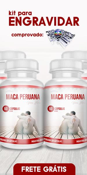 Kit com 4 Frascos de Maca Peruana Premium Pura Unilife 60