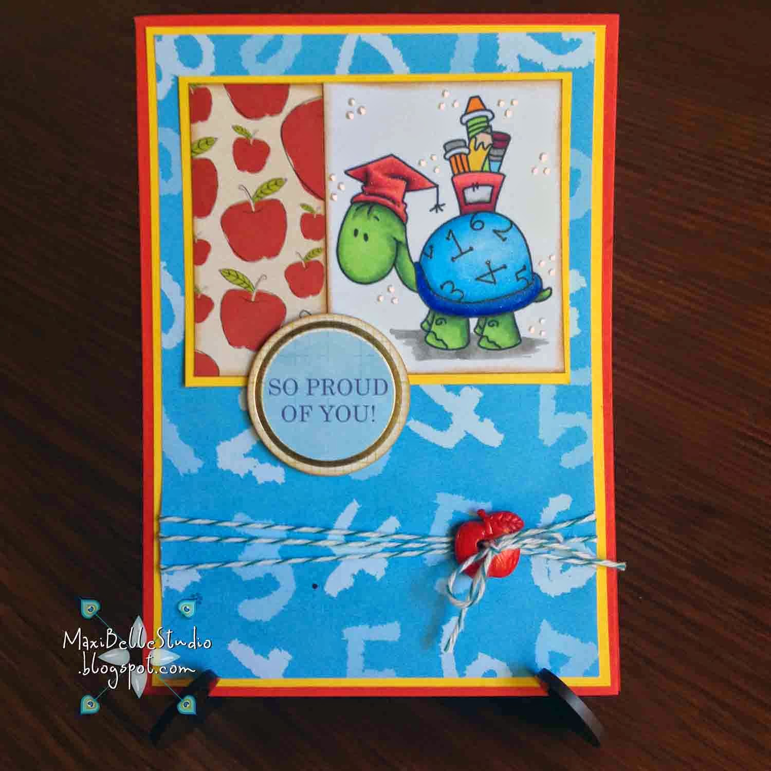 Bugaboo Stamps Turtles School
