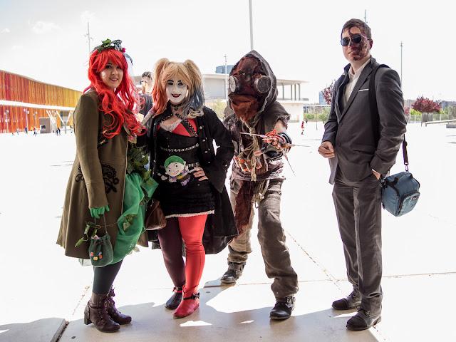 Urano Game 2016 Zaragoza cosplay