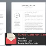 Perbedaan Curriculum Vitae, Resume dan Cover Letter