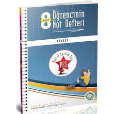 Anafen 8.Sınıf PES Türkçe Öğrencinin Not Defteri